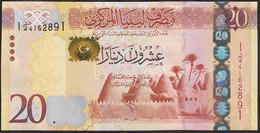 Libya 20 Dinar 2013 P79 UNC - Libye