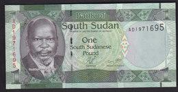 South Sudan 1 Pound 2011 P5 UNC - Soudan Du Sud