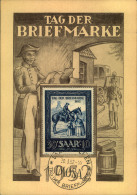 """1952, 15 Fr. """"""""Tag Der Briefmarke"""""""" Auf Sonderkarte Mit IMOSA Ersttagssonderstempel. - Sin Clasificación"""
