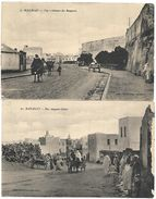 CP 384  Deux CPA Du Maroc Mazagan - Maroc