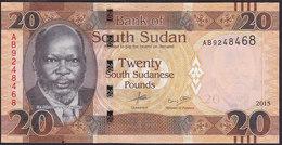 South Sudan 20 Pound 2015 Pnew UNC - Soudan Du Sud