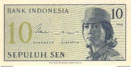 INDONESIA 10 SEN 1964 P-92 UNC  [ID545a] - Indonesia