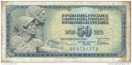 YUGOSLAVIA 50 DINARA 1978 P-89a CIRC  [ YU089acirc ] - Yugoslavia