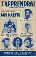 40-60 PARTITION TEACH ME TO NIGHT GENE DE PAUL NAT KING COLE BOB MARTIN BLUE STARS DINAH WASHINGTON J'APPRENDRAI - Jazz