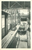 HOUDENG-GOEGNIES -Ascenseur Hydraulique N° 1 - Sortie D'un Bateau, Aval - België