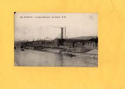 Carte Postale - PUTEAUX - D92 - Le Quai National - Les Usines - Puteaux