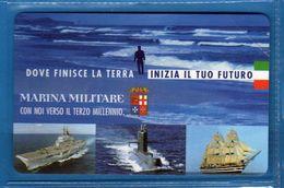 (4E) Italia - MARINA MILITARE - £ 5000 - C&C. F.3246  - . NUOVE.  Vedi Descrizione - Italia