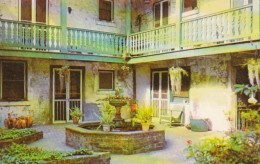 Louisiana New Orlean Bosque House Patio 619 Chartres Street