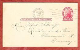 P 35 II Jefferson, New York Fox Street Sta. Nach Rinteln 1919 (40387) - 1901-20