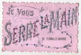 Carte Souvenir. Je Vous Serre La Main De Flémalle-Grande. - Flémalle