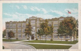 Indiana Muncie Science Hall Indiana State Normal School Eastern