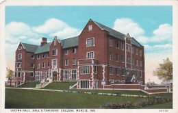 Indiana Muncie Lucina Hall Ball's Teachers' College Curteich