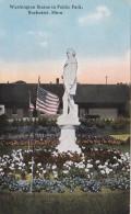 Minnesota Rochester Washington Statue In Public Park