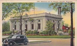Wisconsin Kenosha Historical And Art Museum Curteich - Kenosha