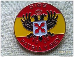 Placa Carlista Dios Patria Y Rey Para Boina. España - España