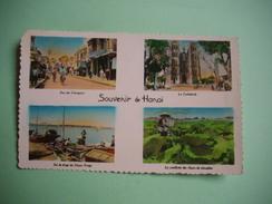 HANOI  -  Souvenir De Hanoï  -  Multivues  -  INDOCHINE  -  VIET NAM  - - Viêt-Nam