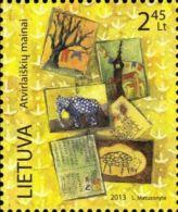 Lithuania 2013 Mih. 1146 Postcrossing MNH ** - Lituanie