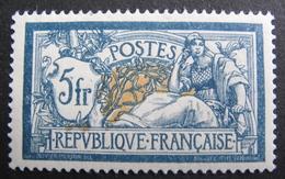 LOT DF/470 - 1900 - TYPE MERSON - N°123 NEUF* - Cote : 100,00 € - Unused Stamps