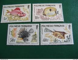 POLYNESIE YVERT POSTE ORDINAIRE N° 18/21 TIMBRES NEUFS ** LUXE - MNH - COTE 42,50 EUROS - French Polynesia