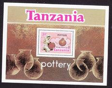 Tanzania, Scott #283, Mint Never Hinged, Pottery, Issued 1985 - Tanzania (1964-...)