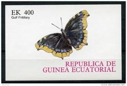 Equatorial Guinea, Butterflies, MNH Imperforated Proof - Equatorial Guinea