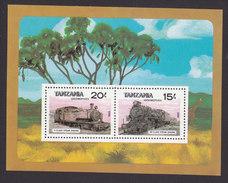 Tanzania, Scott #289, Mint Never Hinged, Train, Issued 1985 - Tanzanie (1964-...)