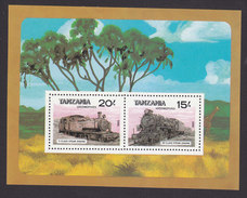 Tanzania, Scott #289, Mint Never Hinged, Train, Issued 1985 - Tanzania (1964-...)