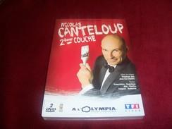NICOLAS CANTELOUP 2em COUCHE  DOUBLE DVD NEUF SOUS CELOPHANE - Concert & Music