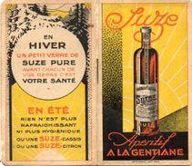 CALEPIN DE BISTROT DE BAR DE CAFE CARNET DE COMMANDE Suze  ANNEE 1932 - Autres Collections