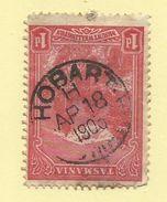 Tasmania - Circular Post Office Postmark - Hobart (H) - Tas 1210 - Gebraucht