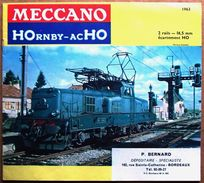 Catalogue 1963 Avec Tarifs : TRAINS MECCANO HOrnby-acHO - French