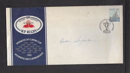 S.Africa, 1983 Rugby Cover Signed By DIVAN SERFONTEIN (Springbok Captain) - Covers & Documents