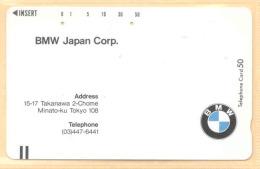 JAPAN  Telefonkarte- , BMW - Autos