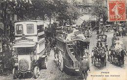 Paris19)  PARIS  - Boulevard Des Italiens  (  Omnibus  ) - District 19