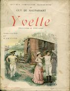 Maupassant Yvette  Illustrations Cortazzo  Ed Albin - Livres, BD, Revues