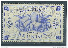 VEND BEAU TIMBRE DE LA REUNION N°242a , SANS TEINTE DE FOND , XX !!!! - Réunion (1852-1975)