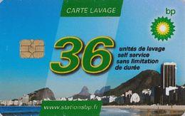 # Carte A Puce Portemonnaie  Lavage BP - Plage - 36u - Tres Bon Etat - - Frankrijk