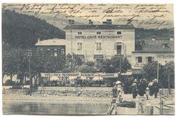 OPATIJA / ABBAZIA - Adria, Quarnero, Croatia, 1926. Hotel Cafe Restaurant - Kroatië
