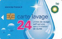 # Carte A Puce Portemonnaie  Lavage BP - Goutte - 24u Gem - Www.bp-france.fr  RCS Pontoise B 542 034 327 Tres Bon Etat - - Frankrijk