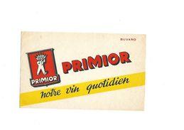 Buvard  Vin Primior - Buvards, Protège-cahiers Illustrés