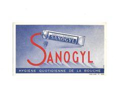 Buvard Dentrifice Sanogyl - Buvards, Protège-cahiers Illustrés
