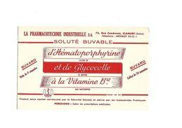 Buvard  Solution Buvable D'Hématoporphyrine - Produits Pharmaceutiques
