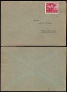 Germany - EF Brief ('Ein Volk Steht Auf' MiNr. 908 EF) WERMELSKIRCHEN, 27.3.1945. - Germania