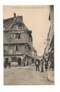 28 -NOGENT-le-ROI- Grande Rue,Maison XVè Siècle,animée,commerce - Nogent Le Roi