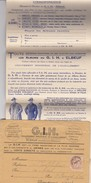 LETTRE ET PROSPECTUS GROUPEMENT INDUSTRIEL DE L'HABILLEMENT ELBEUF - Werbung