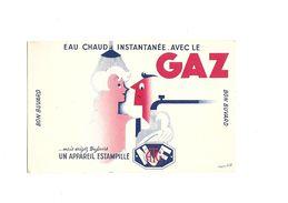 Buvard  Gaz Eau Chaude Instantané - Electricité & Gaz