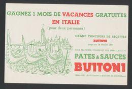 Buvard - Pates BUITONI - Buvards, Protège-cahiers Illustrés