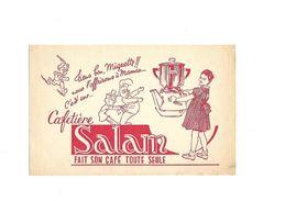 Buvard Cafetière Salan  Rouge - Buvards, Protège-cahiers Illustrés