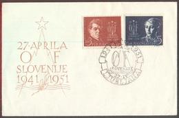YUGOSLAVIA - JUGOSLAVIA - SLOVENIA - OF  STANE ROZMAN - LJUBLJANA -  FDC -1951 - FDC