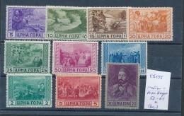 Italien-Montenegro  52-61 * ( T5155 ) Siehe Scan - 9. WW II Occupation (Italian)